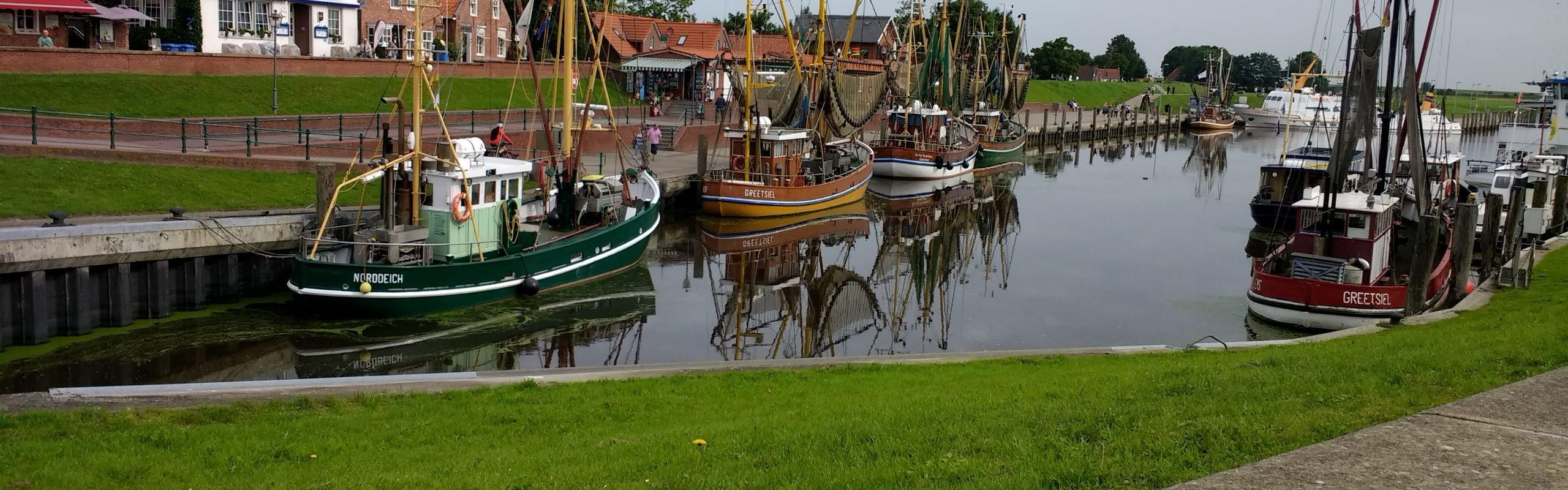 Hafen Ortsgemeinde Greetsiel / Niedersachsen